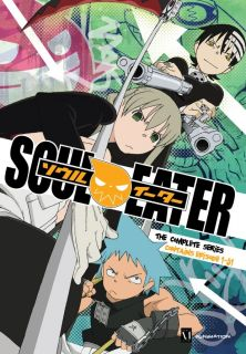 Soul Eater Complete Series EP 1 51 8 Disc Anime DVD Funimation R1