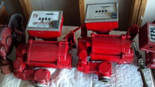 2 Gasboy 72s Fuel Pumps