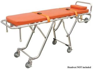 Stretcher EMT EMS Mortuary Cot Funeral Home Church Truck Cemetery