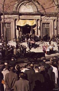 president kennedy funeral st matthew washington dc