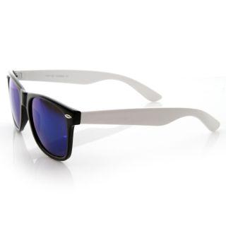 Full Revo Mirror Lens Two Tone Color Shades Sunglasses 8559