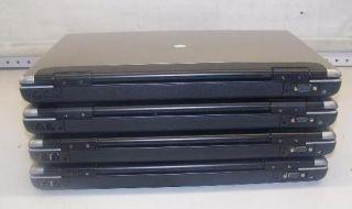 LOT OF 4) GATEWAY M685 E LAPTOP CORE DUO 1.8GHz/ 1GB/ 80 120GB