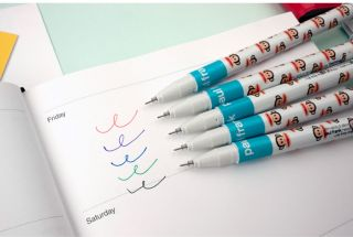 Paul Frank Julius 0 38mm 5Colors Neutrality Gel Rollerball Pens Set