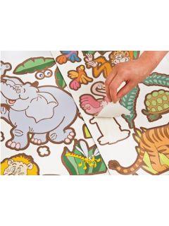 Jungle Safari 21 Large Wall Stickers Fun to See New