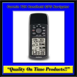 New Garmin 72H Handheld GPS Navigator Portable Outdoor Compass USB