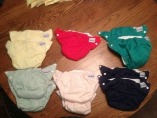 11 Fuzzi Bunz Cloth Diapers
