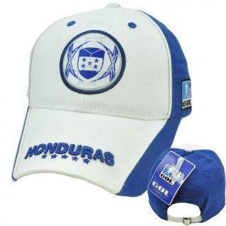 Honduras Hat Cap Gorra Cachucha Soccer Flag Futbol Football White Blue