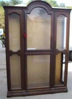 JASPER CABINET COMPANY Vintage antique CURIO China cabinet Dorset Corp