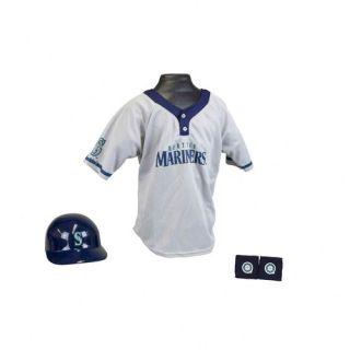 Franklin Sports MLB Kids Team Uniform Set Seattle Mariners 15231F12P1Z