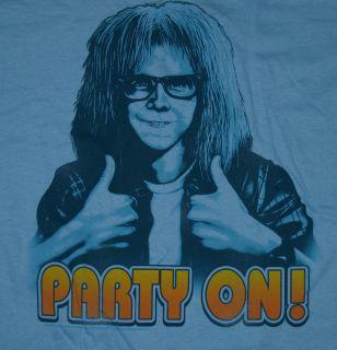 Waynes World Garth Party on Saturday Night Live Movie T Shirt Tee