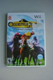 Champion Jockey G1 Jockey Gallop Racer Game Complete Nintendo Wii