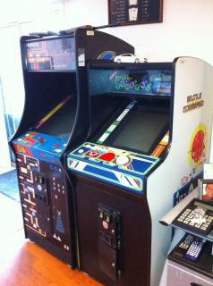Ms Pac Man Galaga Arcade Game Lets Go Bowling Missile Command