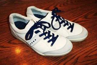 Golf Shoes Mint 11 11 5 45 Fred Couples Royal Blue White w Box