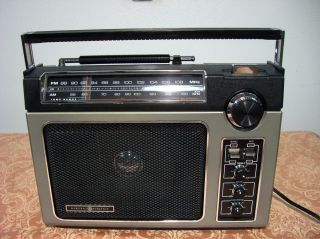 Superadio General Electric Super Radio Long Range Model 7 2880