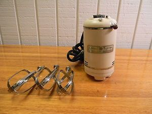40s Vtg GENERAL ELECTRIC 3 Beater DECO Model 149M8 Mid Century MIXER