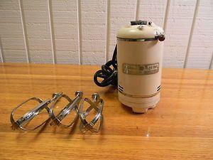40s Vtg GENERAL ELECTRIC 3 Beater DECO Model 149M8 Mid Century MIXER