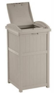 features holds 30 33 gallon garbage bags ideal trash container for