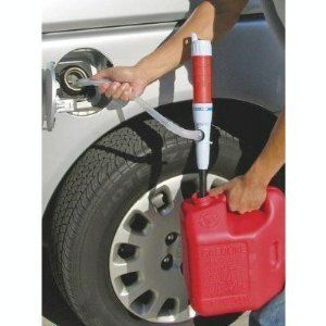 Transfer Siphon Pump Battery Powered Gas Oil Water Fish Tank