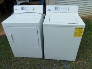 GE General Electric Profile Performance One Touch Washer and Dryer Set
