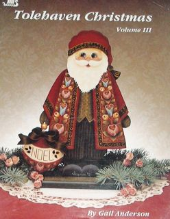 TOLEHAVEN CHRISTMAS Vol 3 Gail Anderson Painting Pattern Book