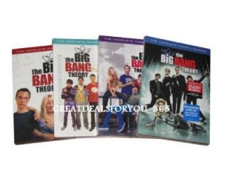 The Big Bang Theory Complete Seasons 1 4, 1 2 3 4