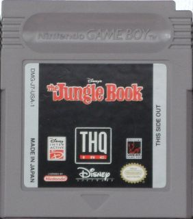 Game Boy The Jungle Book Walt Disney'S