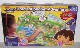 FP Power Touch Doras Alphabet Adventure Game Nick Jr