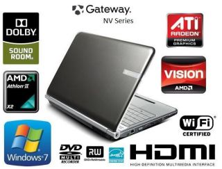 Gateway NV53 HD Windows 7 Laptop   PERFECT CONDITION