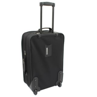 Geoffrey Beene Westchester 3 Piece Carry On Luggage Set Black