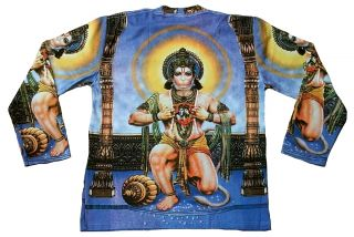 Hanuman Shiva Parvati Hindu Monkey God Deity Tattoo Art Designer T