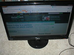 ASUS VH242H 23 6 Full HD 1080p LCD Gaming Monitor with mount
