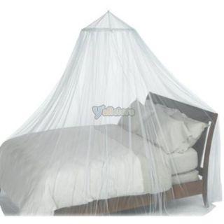 New Hot Elegant Netting Bed Canopy Mosquito Net White