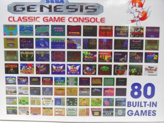 Genesis Arcade Classic Game Wireless Console & Controllers w/ 80 Games