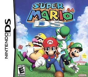 New Super Mario 64 Game For Nintendo DS DSi XL LL DS Lite NDS