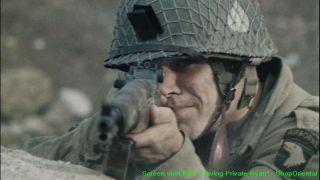 Figure Model WW2 US Army M1 Garand Springfield Rifle M1 Garand