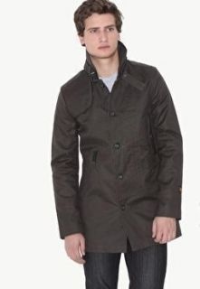 Star Raw Decoy Garber Trench Military Jacket Coat M