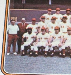 1974 Topps 431 Gene Garber 459 Reds Team Pete Rose Bench Morgan Huge