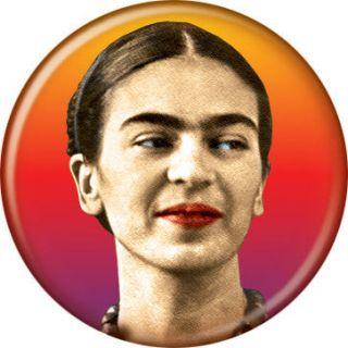 frida kahlo face button 80200 the frida kahlo face button measures 1