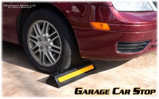 Parking Lot Curb Wheel Stop Car Truck Garage Tire Guide DH PB 1