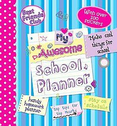 New My Awesome School Planner Best Friends Club