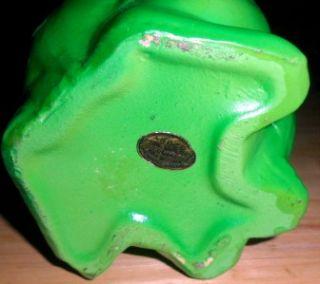 Vintage Ardco Small Porcelain Frog Planter Big Buggy Eyes