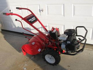 TROY BILT BIG RED HORSE GARDEN TILLER 305cc BRIGGS STRATTON 1450