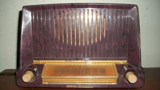 Antique General Electric Tube Radio