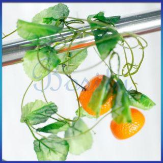 Artificial Fruit Vine Ivy Garland Silk Leaves Home Garden Wedding