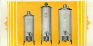 Brochure Ruud Autohot Water Heaters Copper Models