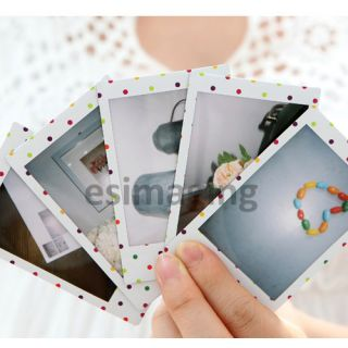 Fujifilm Instant Instax Mini Film Candypop Dot for 7S 25 Polaroid