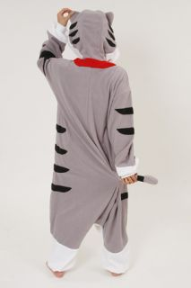 Tabby Tiger Animal Tiger Cat Costume KIGURUMI Cosplay Pajamas Party