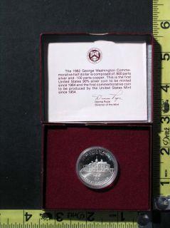 Mint Proof 90% Silver Commemorative George Washington Half Dollar Coin