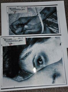 Gerard Butler Crime Scene Photos Movie Props from Law Abiding Citizen