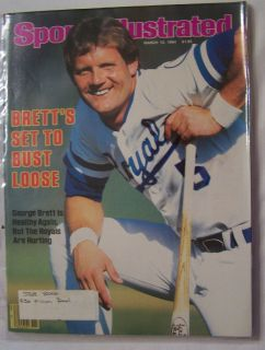 SI Sports Illustrated GEORGE BRETT Cover Kansas City Royals STEVE